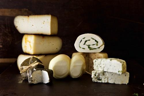 Variety of Cheeses Made in Dallas, TX (Mozzarella Company)