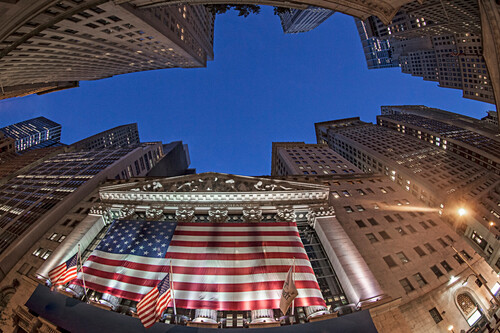 Stock Exchange, Wall Street, Downtown, Manhattan, New York City, New York, USA