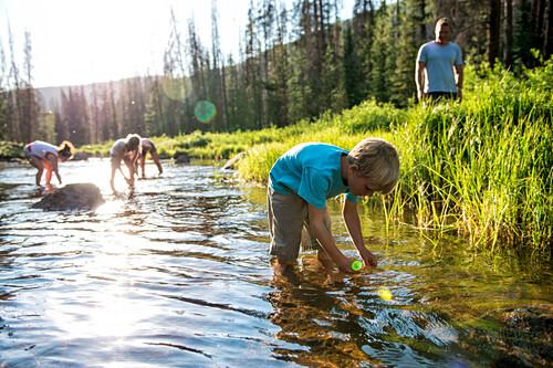 Summer., Vail, Colorado, USA