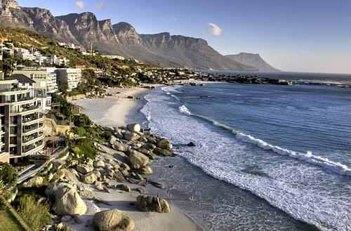 coast an beach Clifton, Cape Town, South Africa