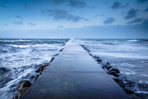 pier, Baltic Sea, Kiel, Stein, Kiel fjord, Schleswig Holstein, Germany