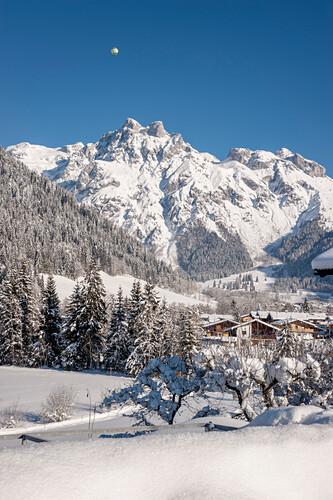 Schnee, Winter, Skigebiet, Werfenweng, Österreich, Alpen, Europa