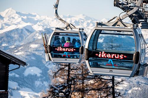 Gondel, Schnee, Winter, Skigebiet, Werfenweng, Österreich, Alpen, Europa