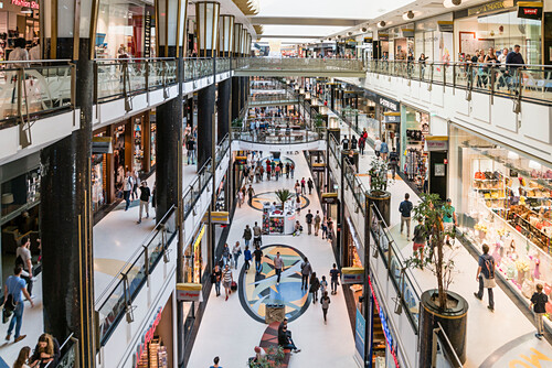 Alexa ,shopping center, interieur, Berlin