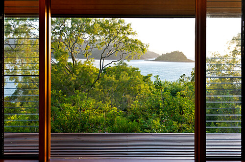 Aller Windward Pavillions im Qualia Resort haben Meeresblicke, Hamilton Island, Queensland, Australien