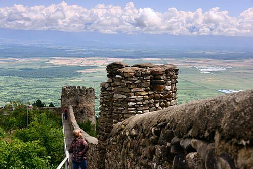 Landschaft bei Signachi, Kachetien, Ost- Georgien