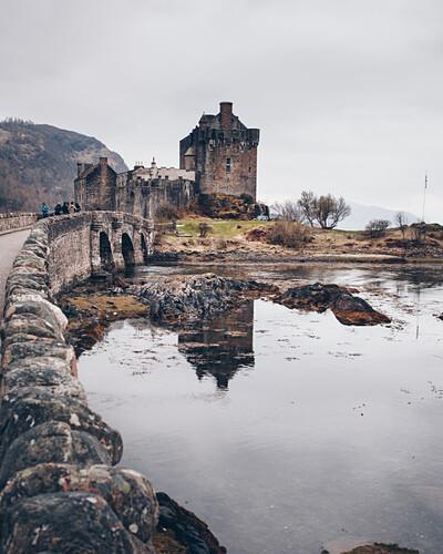 Das Eilean Donan Schloss Auf Der Isle Of Bild Kaufen