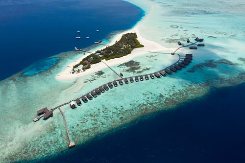 Ferieninsel Cocoa Island, Sued Male Atoll, Indischer Ozean, Malediven