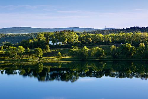 Weinfelder Maar, Totenmaar, bei Daun, Eifelmaare, Eifel, Rheinland-Pfalz, Deutschland