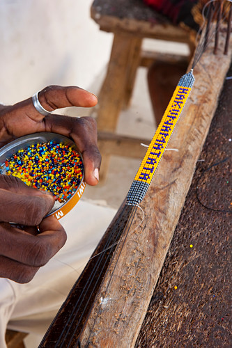Hakuna matata, pearl bracelet, souvenir, Watamu, Malindi, Kenya