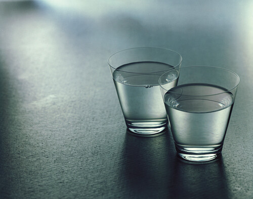 Two glasses of water, Drink