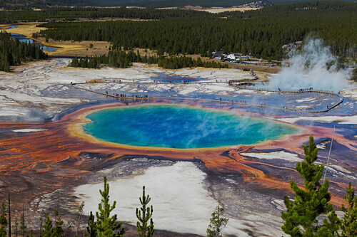 'Grand Prismatic Spring, Yellowstone National Park; Wyoming, United States of America'