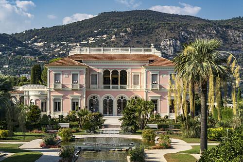 Villa Ephrussi de Rothschild, St. Jean Cap Ferrat, Frankreich
