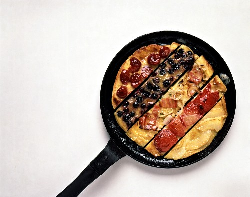 Assorted Pancake in Strips