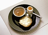 Breakfast with Jasmine Tea