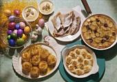 5 verschiedene Eigerichte