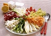 Large Raw Vegetable-Platter