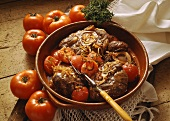 Ossobuco (braised shin of veal, Italy)