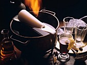 'Fire tongs' punch