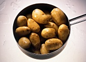 Whole Cooked Potatoes with Skins