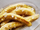 Roasted Bananas with Almonds