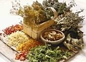 Dried Herbs & Vegetables