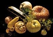Assorted Colorful Squash Still Life