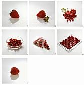 Preparing and freezing strawberries