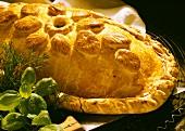 Festive pate in pastry