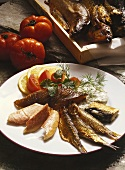 Cold Smoked Fish Platter