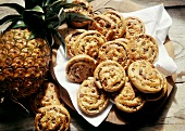 Pastries Baked with Pineapple