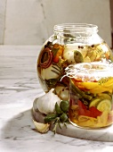 Spicyly preserved Vegetables