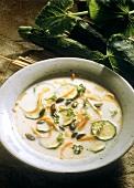 Carrot-Zucchini Soup