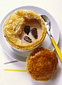 Truffle Soup with Puff Pastry Cover