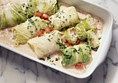Stuffed Cabbages with Bulgur