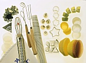 Moulds and utensils for chocolate-making