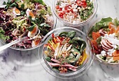 Assorted mixed Salads