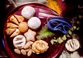 Fritters and Carnival biscuits