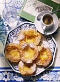 Cinnamon-Cream Tartlet