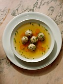 Vegetable Broth with Wholegrain Dumplings