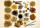 Assorted Ingredients and Whole Grains