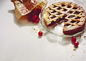 Crostata di visciole (cherry tart), Latium, Italy