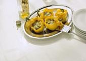 Peperoni ripieni (stuffed peppers), Apulia, Italy
