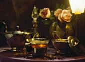 Romantic Tea Scene
