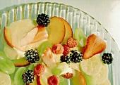 Fruit Salad with Yogurt-Cinnamon Sabayon