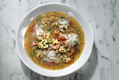 Barley Soup with Tomatoes