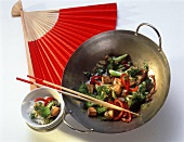 Wok with Tofu and Vegetable Stir Fry