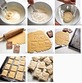 Baking Swabian Christmas cookies (Springerle)