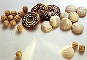Verschiedene Lebkuchenbäckerei