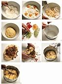 Baking panettone